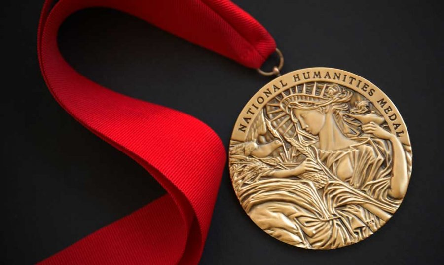 President Obama Awards 2014 National Humanities Medal