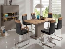 table avec allonges buffet ou bahut