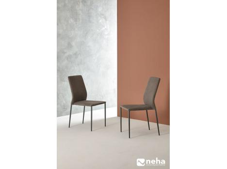 chaise haut dossier salle a manger cuir design