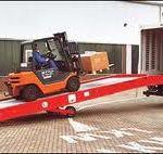 Rampalı Forklift Çalışması