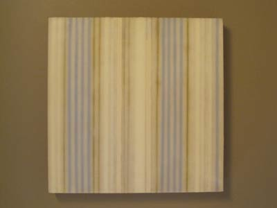 """""""This is a encaustic, waxed painting that hangs in the master bath. I bought it from"""