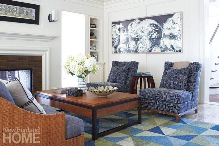 Patrick Ahearn family room
