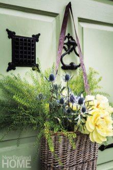 Historic Concord Home door