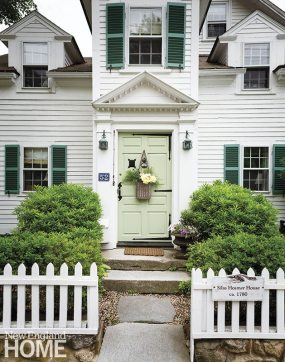 Historic Concord Home front face