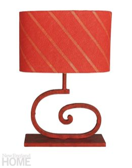 Beyt Beth Red table lamp