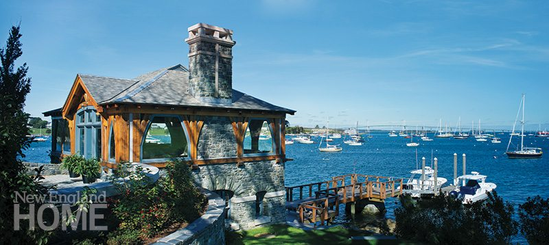 Newport boathouse chimney
