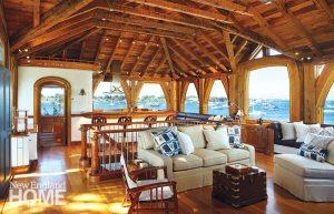 Newport boathouse interior