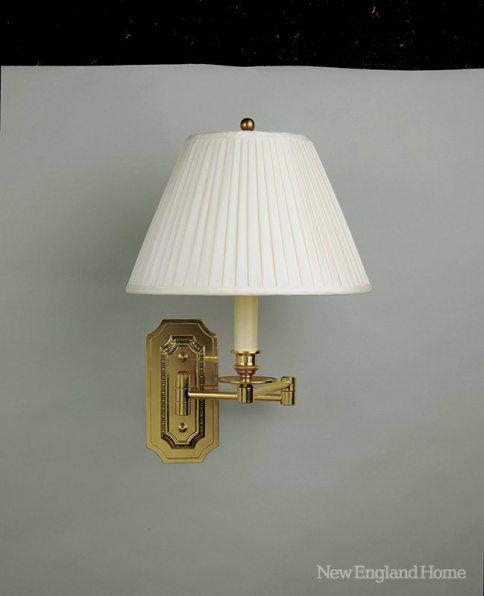Vaughan swing arm lamp
