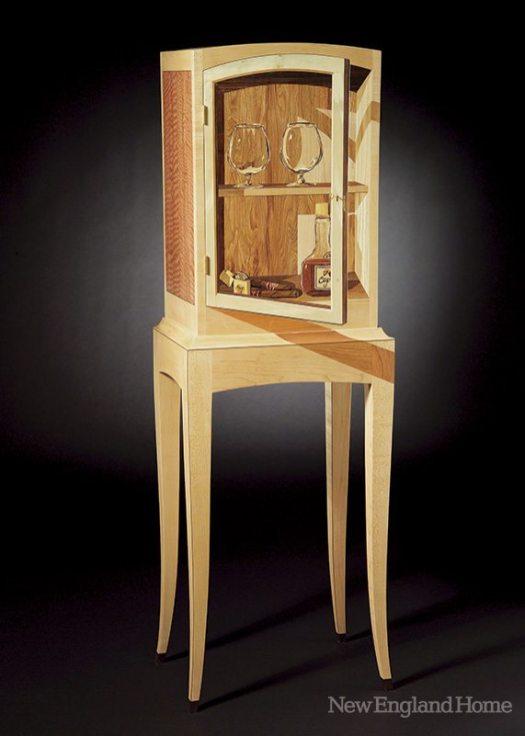 Silas Kopf Primal Cognac Cabinet