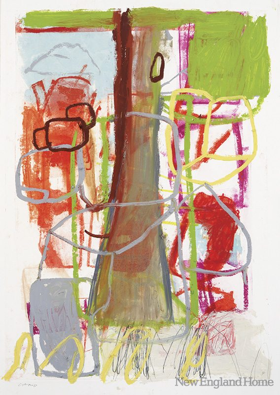 Red Box/Nature (2010), paper lithograph with mixed media