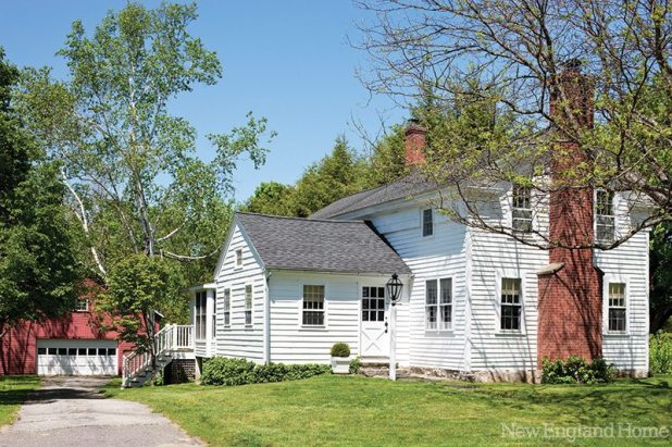 Brimming with history, the home's core dates to 1793.