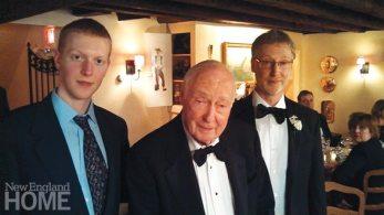 Three generations of Cohns, Matt, Richard, and Jeff.