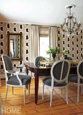 Tiffany Eastman dining room