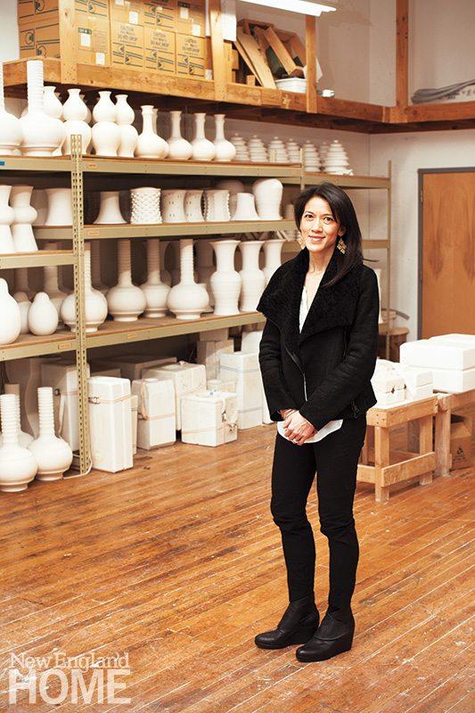 Felicia Hwang Bishop in studio