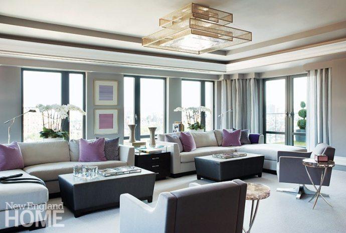 Leslie Fine living room
