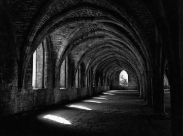 """Fountains Abbey Ruins"" by Robert Preston"