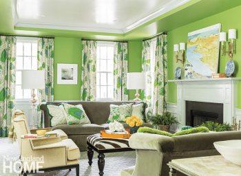 Jill Goldberg living room