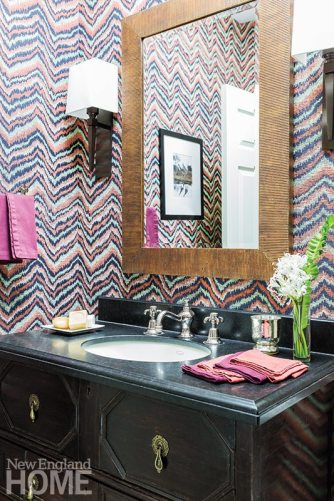 Jill Goldberg powder room