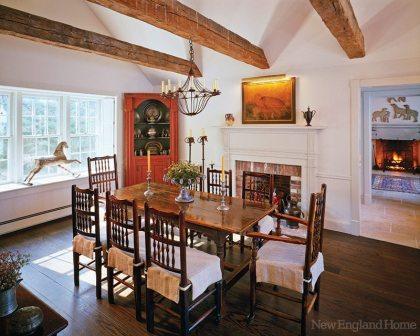 Dolores Halpern dining room