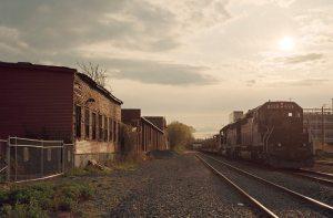 Christopher Churchill train tracks