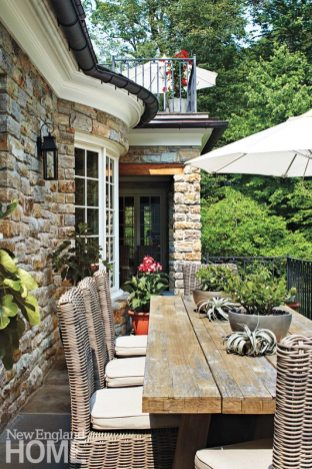 A generous bluestone terrace also runs along the kitchen, easily accessible for al fresco dining and entertaining.