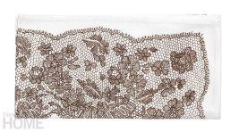An Antique Lace napkin.