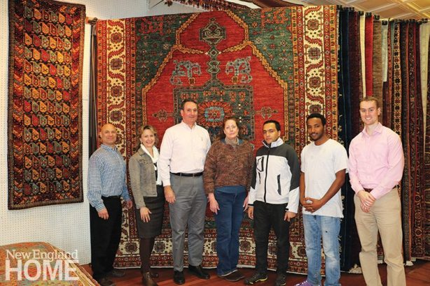The current Kebabian team, including fourth-generation owner John Paton Kebabian Jr. (third from left).