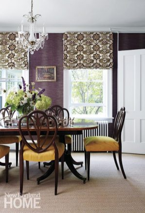 Polly Lewis dining room
