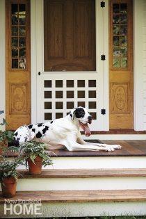 Polly Lewis porch
