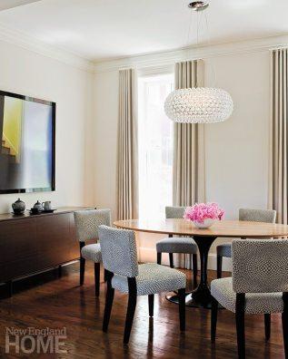 Karl Viksnins dining room