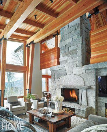 Marcus Gleysteen fireplace