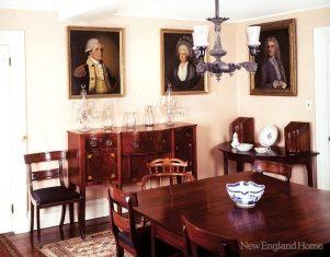 Adams National Historical Park dining room