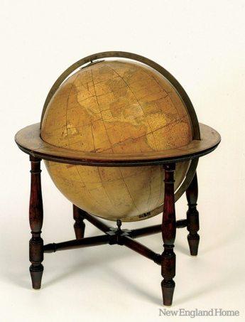 Adams National Historical Park globe