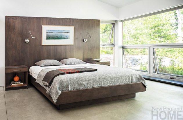 Elliot + Elliot Architecture master bedroom