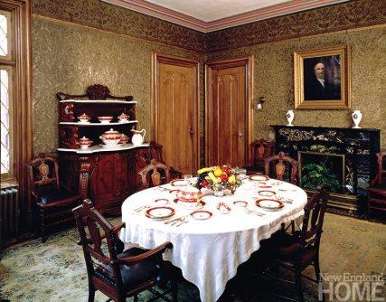 Roseland Cottage dining room