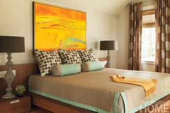 John DaSilva bedroom