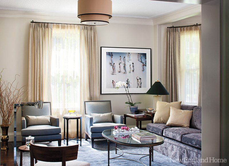 Kristen Rivoli Interior Design living room