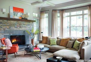 Kristen Rivoli Interior Design family room