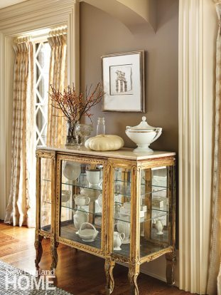 Concord Stone house cabinet