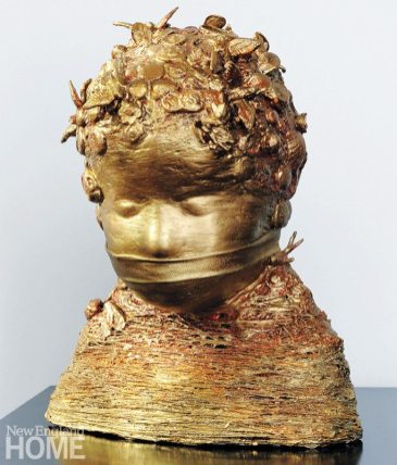 The Golden Child (2009), fiber and mixed media12½″H × 10″W × 7″D;