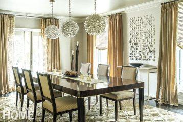Jennifer Palumbo dining room
