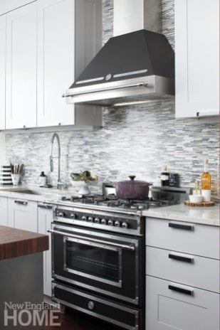 Family friendly penthouse range and hood