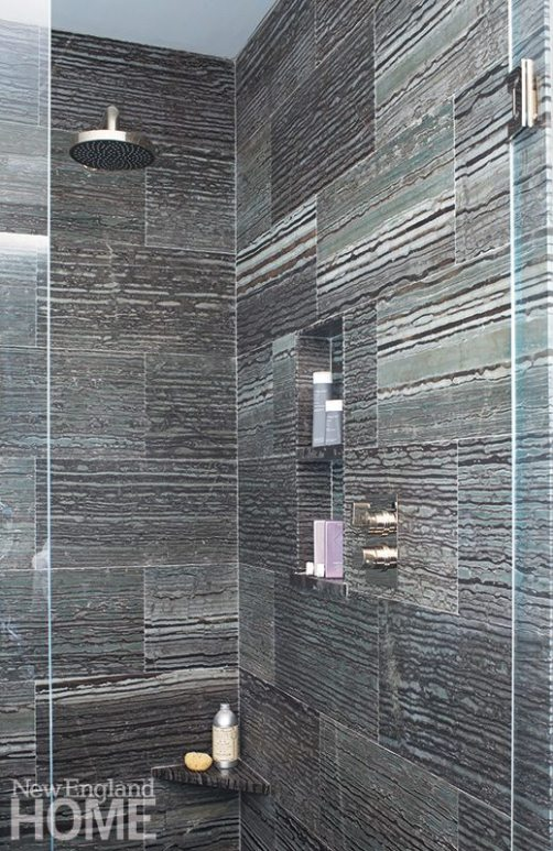 Family friendly penthouse shower