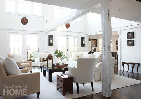 Sheridan Interiors original beams