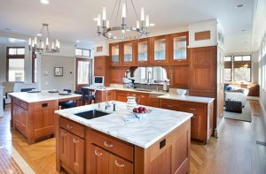 wright building company custom kitchen