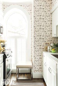 South End apartment designed by Nancy Serafini kitchen
