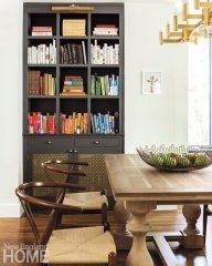 Contemporary Cambridge home bookcase