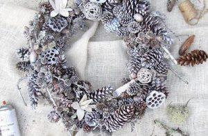 Sampler Wreath White