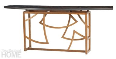 Gingko Hall Table by Brian Reid Furniture