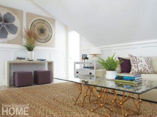 Nantucket Shingle Style Family Room